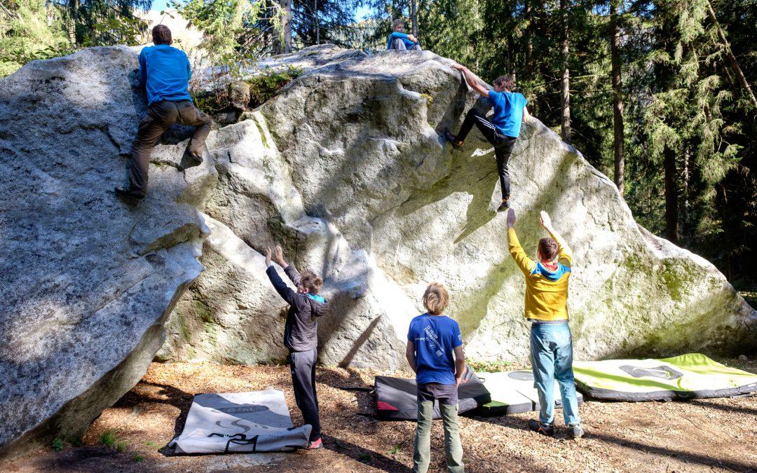 Boulderfreizeit in Arco & Daone