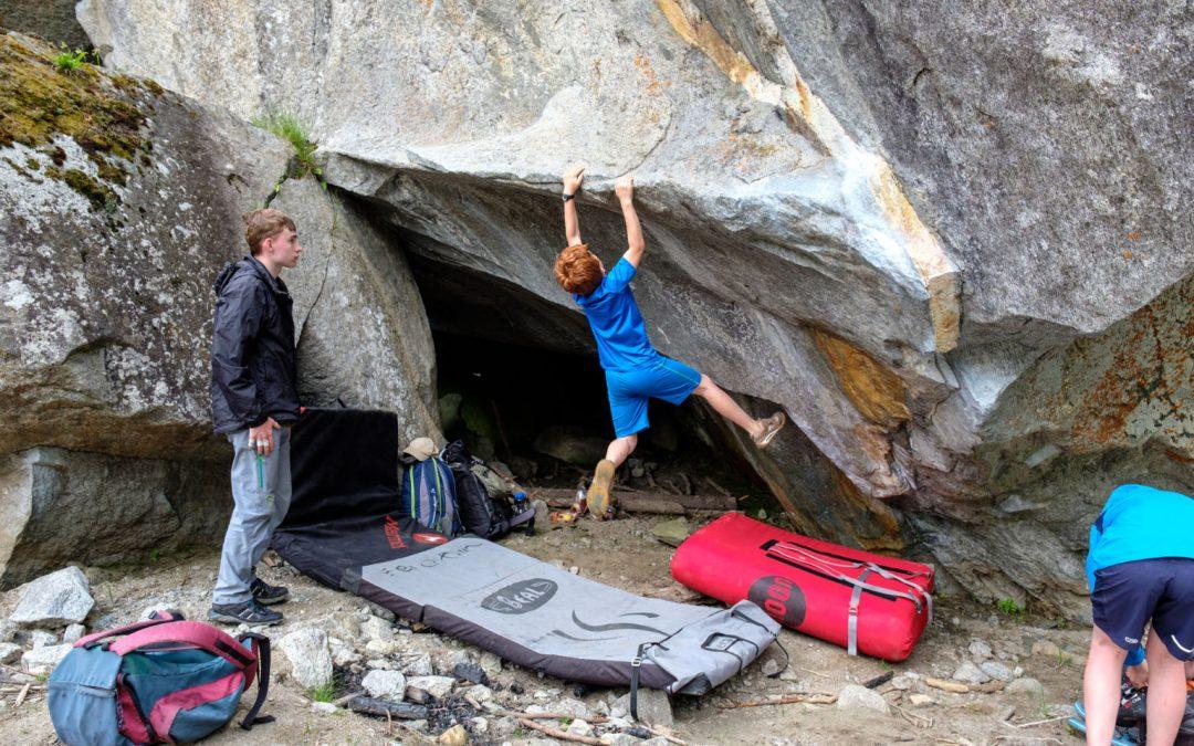 Boulderfreizeit im Zillertal